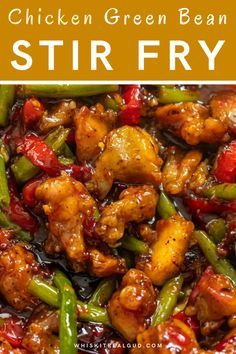 Homemade Chinese Food, Easy Chinese Recipes, Asian Recipes, Healthy Recipes, Chinese Chicken Recipes, Sweet Chili Chicken, Chicken Green Beans, Crispy Chicken, Asian Cooking