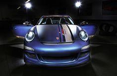 Cam Shaft Matte Sapphire Porsche 911 Cabriolet with PP-Performance Upgrades