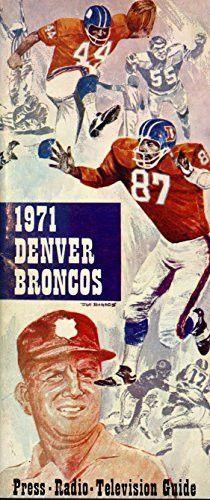 1971 Denver Broncos Media Guide