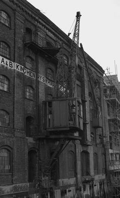 Philip Cunningham's London Docks East End London, Old London, Industrial Architecture, Victorian Architecture, London Street Photography, Tin Shed, London Pictures, Industrial Photography, London Life