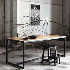 Farm table/desk by House Doctor;-( it's in Europe