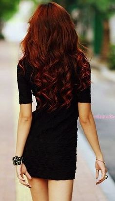 Gorgeous Red Hair | 100% Remy Human Hair Extensions | Available in 45 Shades | Lengths from 15 - 26 | Prices start at 34.99 for a Full Head Set | Extra Thick Double Wefted Extensions Available | Free Worldwide Delivery | FedEx and Next Day Delivery Available | Click the image to shop now