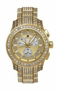 Aqua Master Men's Masterpiece Diamond Watch with Diamond Bezel and 14-Link Diamond Bracelet, 24.00 ctw   Your #1 Source for Watches and Acce...
