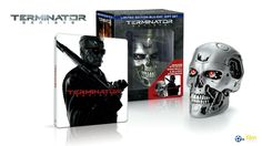 TERMINATOR Genisys + SteelBook + ENDOSKULL Collector's limited Edition Gift Set 500pcs, unnumbered. #filmarena #filmarenacz #terminatorgenisys #arnold #arnoldschwarzenegger #endoskull #steelbook #steelbooks