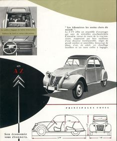 Citroën 2CV de 1958 brochure suisse p4 | < 3,0´~ kenne https://de.pinterest.com/lovejoy58uk/vintage-car-ads-board-2/