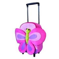 When looking for a rolling backpack for your little girl, what is your most important consideration? Do you want it to be cute, pretty and fun or practical and functional?