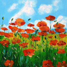 Jean Marc Janiaczyk French painter Dreaming of Provence Pretty Art, Art Pictures, Framed Art Prints, Flower Art, Poppies, Watercolor Paintings, Drawings, Artwork, Provence