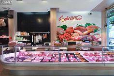 Diseño de carnicería - carnicerías modernas - butchery design - butcher - boucherie - macelleria - carnisseria - interiorismo comercial - carnicería de diseño - diseño comercial - charcutería