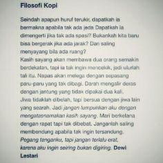 Filosofi Kopi ☕ by Dewi Lestari