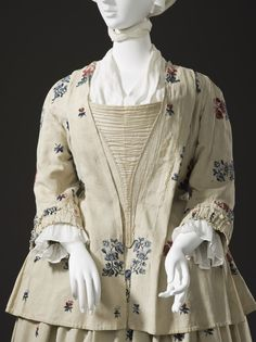 Woman's Bed Gown and Petticoat | LACMA Collections
