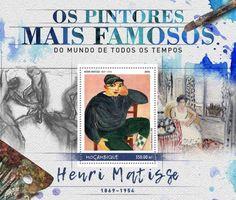 Resultado de imagem para selo de Henri Matisse,