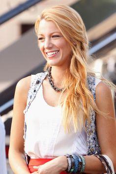 Goldblond tönen?   Haar   Strawberry blonde hair, Blake ...