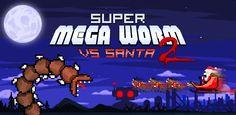 Super Mega Worm Vs Santa 2 v1.0.3 - The cult hit Super Mega Worm finally arrives on Android!The cult hit Super Mega Worm finally arrives on Android!