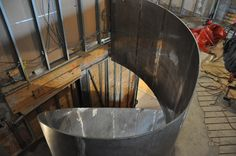 structural steel plate stair - Google Search