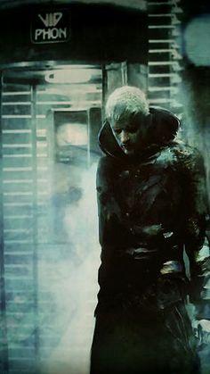 Christopher Shy. Art inspired by Blade Runner (fragment)
