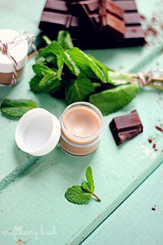 DIY Chocolate Mint Lip Balm | Shelterness