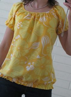 Diy Clothes, Ideias Fashion, Sewing, Blouse, Stitching, Women, Clothing, Diy Clothing, Costura