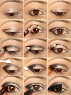 a little help on how to apply and blend eye shadow.