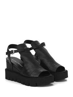 Miss KG Avenue Scarpe con Cinturino alla Caviglia Donna Nero Black j8b
