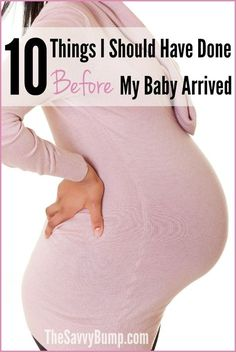 If you're getting ready for a baby, you definitely want to read about these 10 things that will make life easier after your bundle arrives!