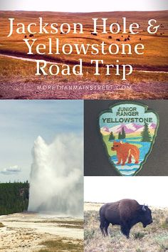 Tips and advice for a road trip from Salt Lake City, Utah to Jackson, Wyoming and Yellowstone. Perfect for vacation with kids!
