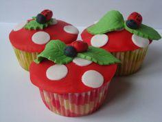 Appel-kaneel cupcakes! Zomers! Mmm...
