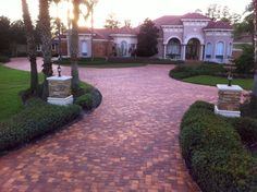 Indian Summer. Driveway brick pavers. Call us today for FREE estimate 813-926-6504