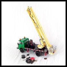 Star 244 w. P-183 lift | Karwik | Flickr Lego Crane, Lego Furniture, Lego Vehicles, Lego Construction, Lego Models, New Trucks, Cool Lego, Lego Creations, Stop Motion