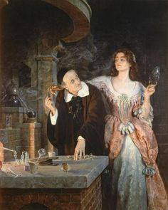 The Laboratory by John Collier