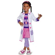 Disguise Doc Toy Hospital Classic Doc Mcstuffins Disney Junior Costume Small2T *** Continue to the product at the image link.