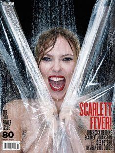"Scarlett Johansson is a ""Hitchcock Heroine"" for V Magazine - Coco's Tea Party"
