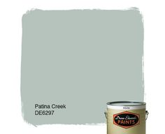 Dunn-Edwards Paints paint color: Patina Creek DE6297 | Click for a free color sample