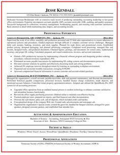 Sample Resume For Office Manager Bookkeeper - http://www ...