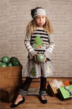Mustard Pie *PEPPER TEE* Holly Evergreen *Winter 2013 Pre-Order*