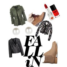 A fashion look from December 2014 featuring H&M jackets, Abercrombie & Fitch jackets and H&M ankle booties. Browse and shop related looks. #fall #fallfashion #booties #leatherjacket