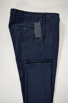 NWT ZANELLA pantalone uomo SPORTIVO cotone FUSTAGNO galles A/I tg. 50-52-56(IT)