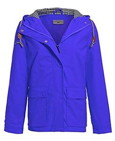NEW SS7 Women's Waterproof Raincoat, Yellow, Blue, Sizes 10 to 18 (UK - 16/18, Blue). UK raincoat. Women raincoat. It's an Amazon affiliate link.