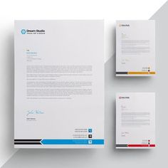 Modern company letterhead Company Letterhead Template, Letterhead Design, Resume Templates, Brochure Design, Branding Design, Magazine Page Layouts, Confirmation Letter, Letterhead Business, Construction Logo Design