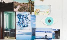 Coral and Tusk inspiration board