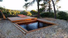 Terrasse mobile bois
