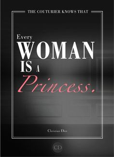 Quotes by Christian Dior  And my name is Princess Fifi.