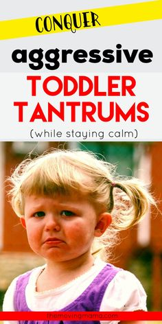 Aggressive toddler tantrums might make you start to feel like you will NEVER be a calm mom, but it's actually possible to get a handle on this aggressive behaviour your toddler has. First step in effective toddler discipline is to understand a little bit about child development and what's normal for toddlers. Learn about that and more in this FULL GUIDE to toddler tantrums that will give you a new perspective on how to handle your toddler's behaviour. Toddler Behavior, Toddler Discipline, Positive Discipline, Parenting Styles, Parenting Hacks, Terrible Twos, Gentle Parenting, Child Development, Family Life