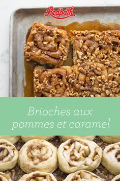 For breakfast, brunch, or break, these sweet and sticky buns are always a welcome treat. Be the office hero and sweeten up that morning meeting, or make them as a Sunday surprise for your family - there's no wrong time to serve them! Croissants, Apple Recipes, Baking Recipes, Brunch, Scones, Apple Fritter Bread, Desserts With Biscuits, Bon Dessert, Savoury Baking