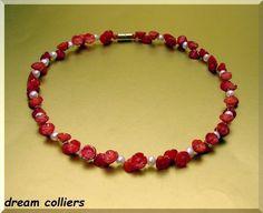 pure Romantik !! Korallenblüten von Dream-Colliers auf DaWanda.com