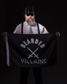 BEARDED VILLAIN  It's #flagfriday and I am proudly holding the Bearded Villains flag  Photo by: Mikael Häggblom  #beard #beards #bearded #beardiful #beardedbrothers #beardedman #beardedmen #beardlife #beardlover #pogonophile #menwithbeards #solidshots #beardgame #beardgrooming #beardmovement #beardedvillains #beardedvillainsworldwide #beardedvillainsfinland #BVFI #alwaysloyal #alwaysvillain #onebrotherhoodoneship #loyaltymakesusfamily by beardinero
