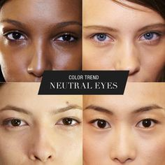 Eyes shine brightly with a hint of subtle shadow. Daily Beauty, Beauty Make Up, Makeup Tips, Hair Makeup, Neutral Eyes, Make Me Up, Beauty Quotes, Color Trends, Maybelline
