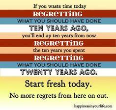 Start fresh today.