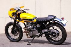 Yamaha SR400 Turbo Star ~ Return of the Cafe Racers