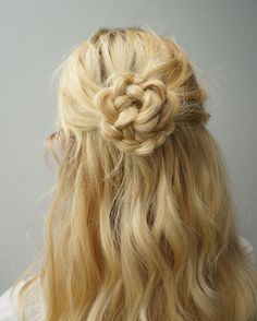 A Flower Braid is Easy and Looks like It Took Hours