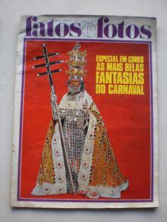 Revista Fatos E Fatos - Carnaval 1968 Em Cores - R$ 30,00 no MercadoLivre